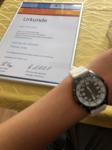 Limitierte Uhr Lehrling des Monats